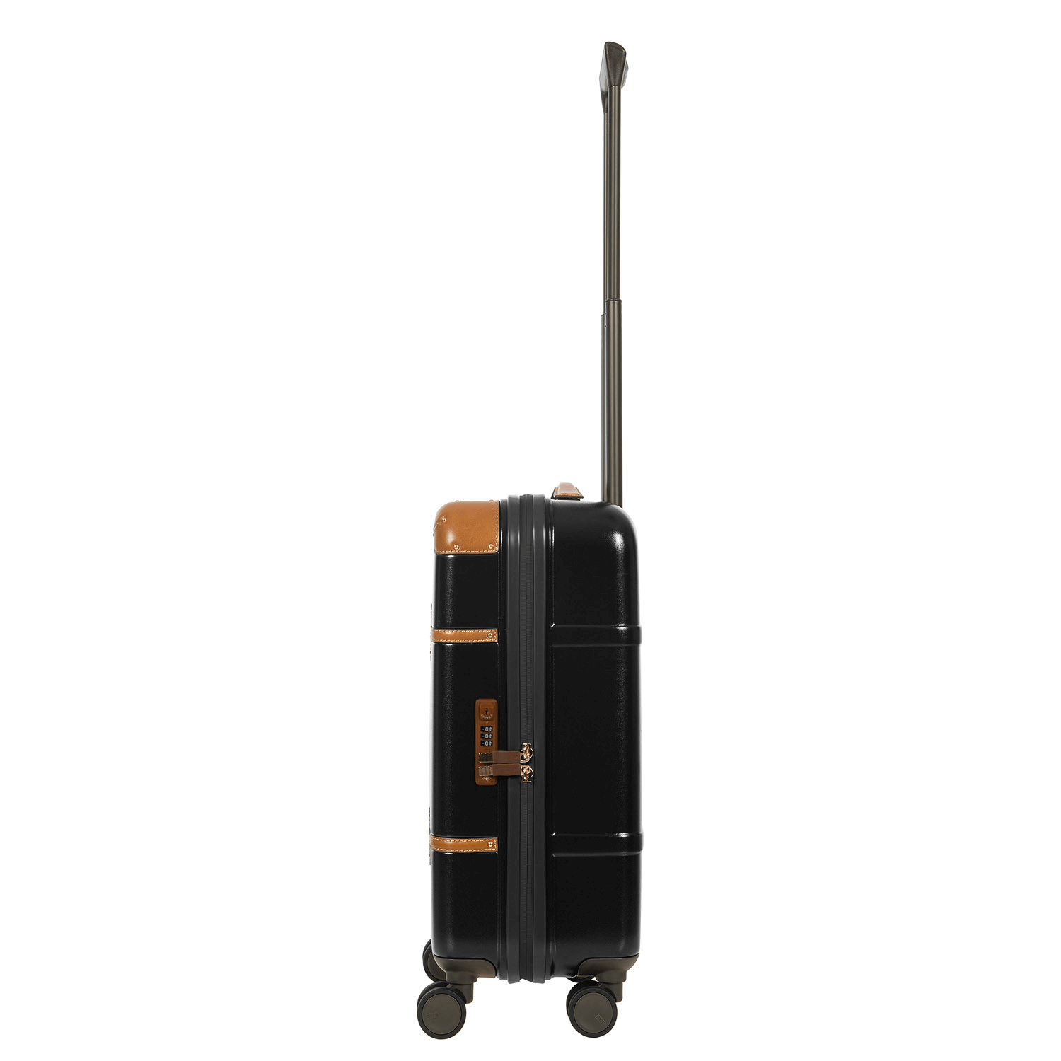 """Black Bellagio 21"""" Carry-On Spinner BRIC'S Luggage"""