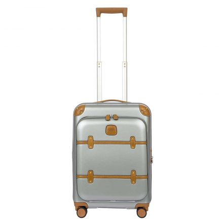 """BRIC'S Bellagio Business V2.0 21"""" Carry-On Spinner - Silver 