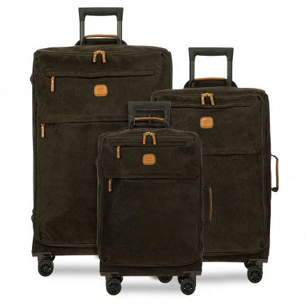 BRIC'S Life Tropea 3-Piece Luggage Set in Olive