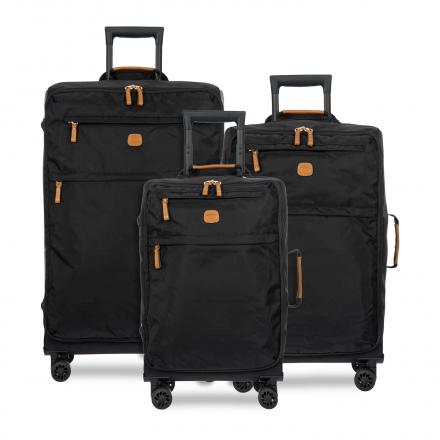 BRIC'S X-Bag Spinner Nylon Luggage Set in Black
