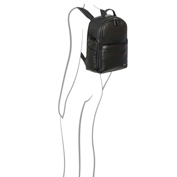 Torino Business Backpack - Black | Brics Travel Bags