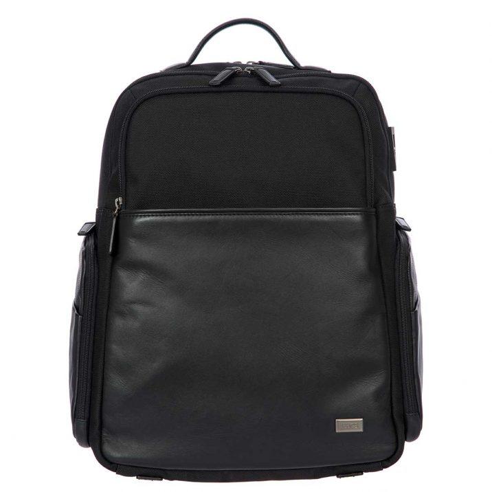 Monza Business Backpack - Black   Brics Travel Bags