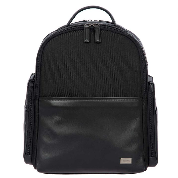 Monza Business Backpack - Black | Brics Travel Bags