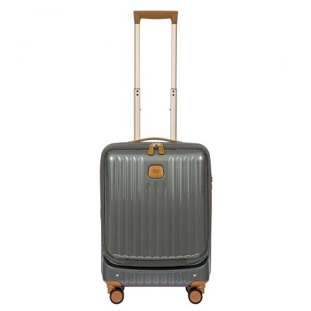 """Capri 21"""" Spinner with Pocket - Gray 