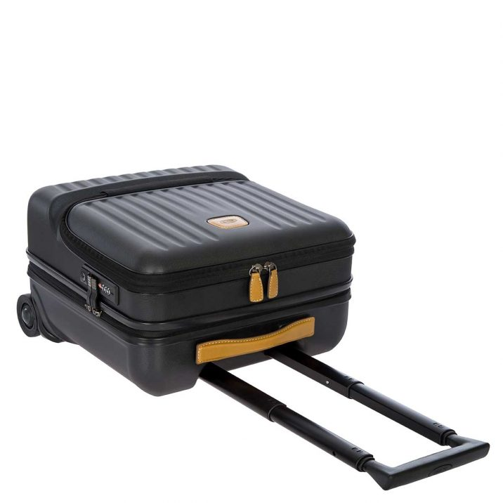 Capri Pilot Case - Black   BRIC'S Luggage