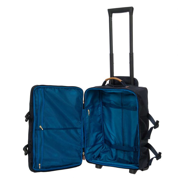 "X-Bag 21"" Montagna Trolley - Navy   BRIC'S Travel Bag"