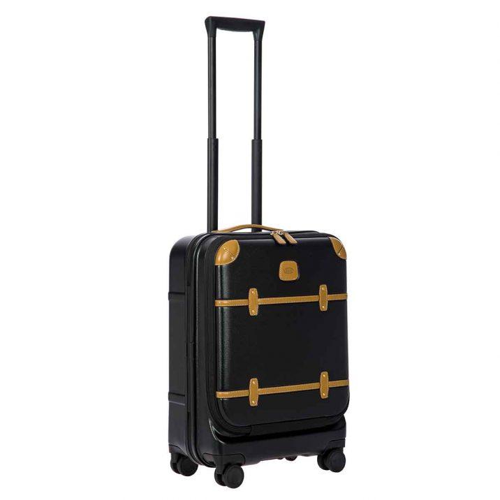 """Bellagio 21"""" Pocket Spinner Trunk - Black"""